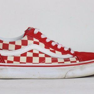 "Vans ""Primary Check Old Skool"" Sneakers Size 5 Men"